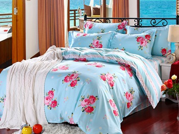 Ericdress Pastoral Flower Perfume 4-Piece Bedding Sets
