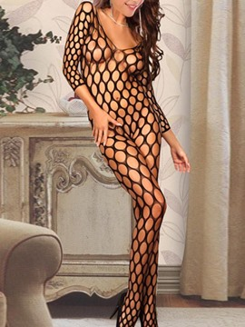 Ericdress Big Hollow Fish Net Sexy Women Pantyhose
