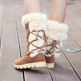 Ericdress Amazing Mid Calf Snow Boots