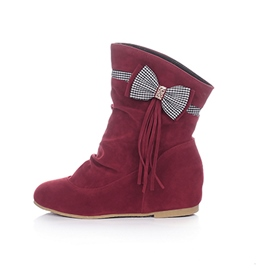 Ericdress Lovely Girl Bowtie Decorated Ankle Boots