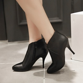 Ericdress Elegant Point Toe High Heel Boots