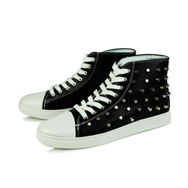 Ericdress Rivets Decorated Men's Canvas Shoes