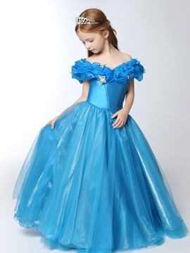 Ericdress Off The Shoulder A Line Princess Flower Girl Dress