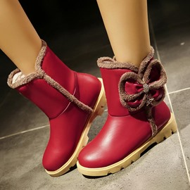 Ericdress Lovely Bowknot Ankle Boots