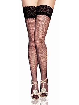 Ericdress Fish Net Thigh Length Women Stocking