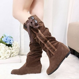 Ericdress Splendid Casual Knee High Boots