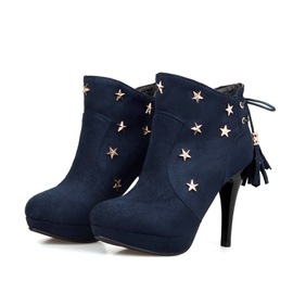 Ericdress Star Decoration High Heel Boots