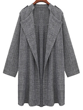 Ericdress Classic Euro-American Style Thin Trench Coat