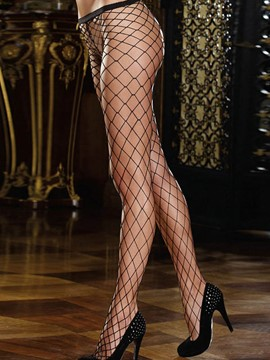 Ericdress Fish Net Hollow Sexy Women Pantyhose