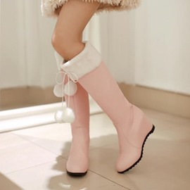 Ericdress Tassels Decorated Knee High Boots