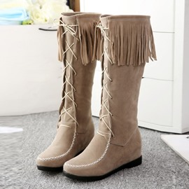 Ericdress Finge Knee High Boots