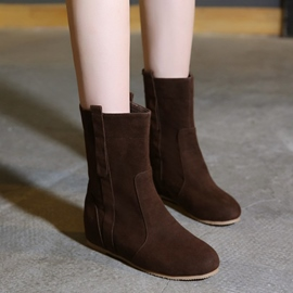 Ericdress Popular Suede Ankle Boots