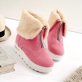 Ericdress Delicate Zipper Decoration Ankle Boots