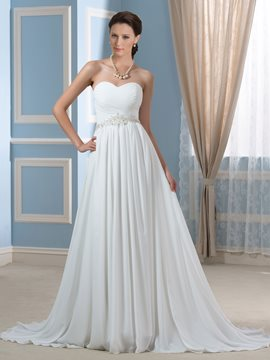 Ericdress Beautiful Sweetheart Empire Maternity Wedding Dress