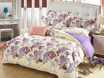 Ericdress Flower Shadow In Water 4-Piece Bedding Sets