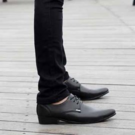 Ericdress Patent Leather Lace up Men's Oxfords