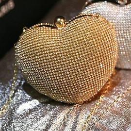 Ericdress Stylish Heart Shape Acrylic Clutch