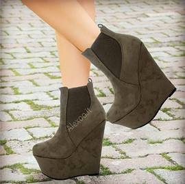 Ericdress Modern Wedge Ankle Boots