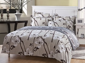 Ericdress Elegant Plum Blossom 4-Piece Bedding Sets