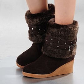 Ericdress Chic Wedge Ankle Boots