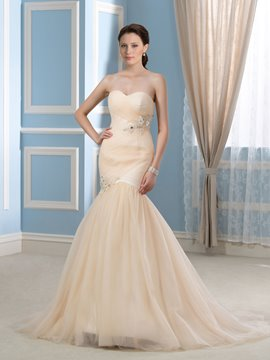 Ericdress Beautiful Sweetheart Mermiad Wedding Dress