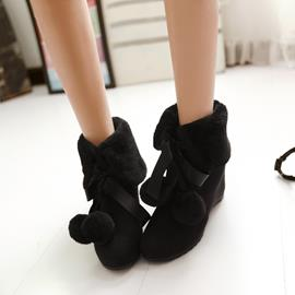 Ericdress Fashion Tassels Wedge Ankle Boots