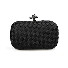 Ericdress Weaved Satin Clutch