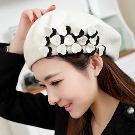 Ericdress Heart Shape Decorated Woolen Hat