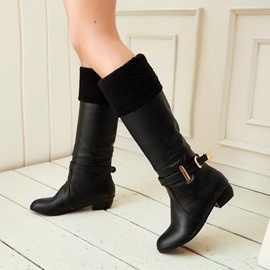 Ericdress Brilliant Knee High Boots