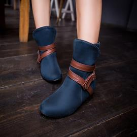 Ericdress Fashion Buckles Decorated Ankle Boots
