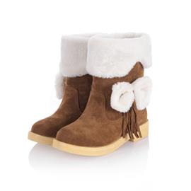 Ericdress Sweet Girl Bowtie Ankle Boots