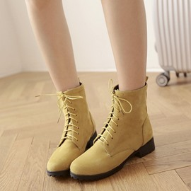 Ericdress Bright Color Ankle Boots