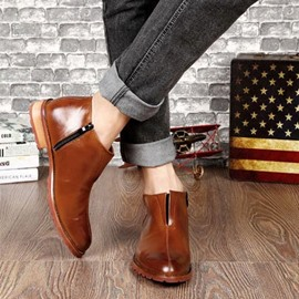 Ericdress Point Toe Men's Ankle Boots