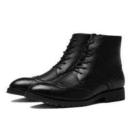 Ericdress Mid-calf Lace up Men's Boots