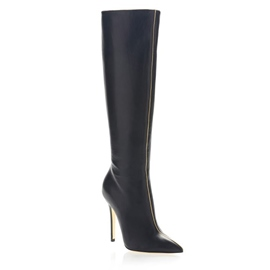 Ericdress Noble Point Toe Knee High Boots