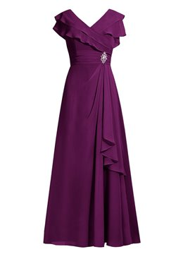 Ericdress elegante V Neck Line Mutter der Brautkleid