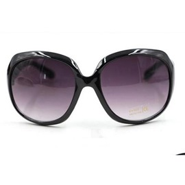Ericdress Simple Big Frame Resin Sunglasses