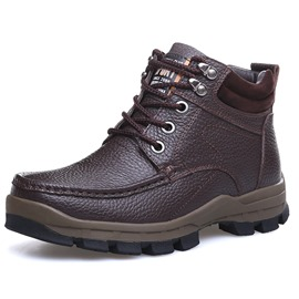 Ericdress Warm Lace Up Men's Boots