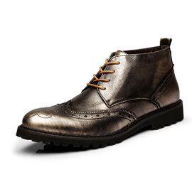 Ericdress Brogue Men's Ankle Boots