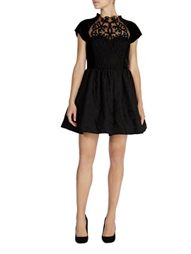 Ericdress A-Line Scoop Short Sleeves Little Party Dress