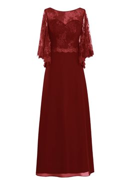 Ericdress Beautiful Bateau Lace Mother of the Bride Dress