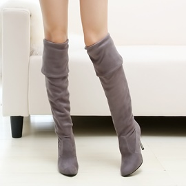 Ericdress Pretty Knee High Boots(different ways to wear)