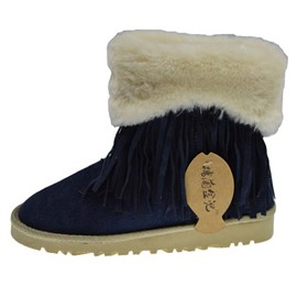 Ericdress Comfortable Fringe Snow Boots