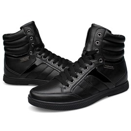 Ericdress Black Lace up Men's Sneakers