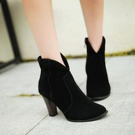 Ericdress Unique Suede High Heel Boots