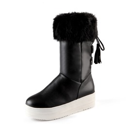 Ericdress Popular Tassels Decoration Snow Boots