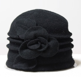 Ericdress Flower Woolen Top Hat
