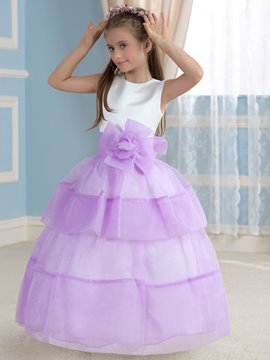 Ericdress Unique Ball Gown Flower Girl Dress
