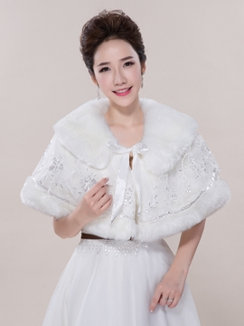 Ericdress Beautiful Faux Fur Wedding Wrap