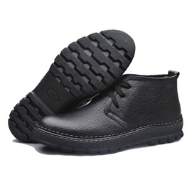 Ericdress Comfortable Lace up Men's Boots